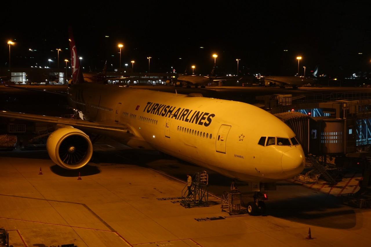 Turkish Airlines TK 83 in Hong Kong International Airport (Foto Istimewa)