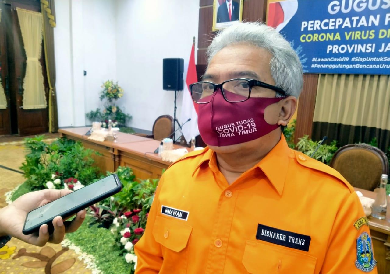 Kepala Dinas Tenaga Kerja dan Transmigrasi (Disnakertrans) Jatim, Himawan Estu Bagijo (Foto Istimewa)